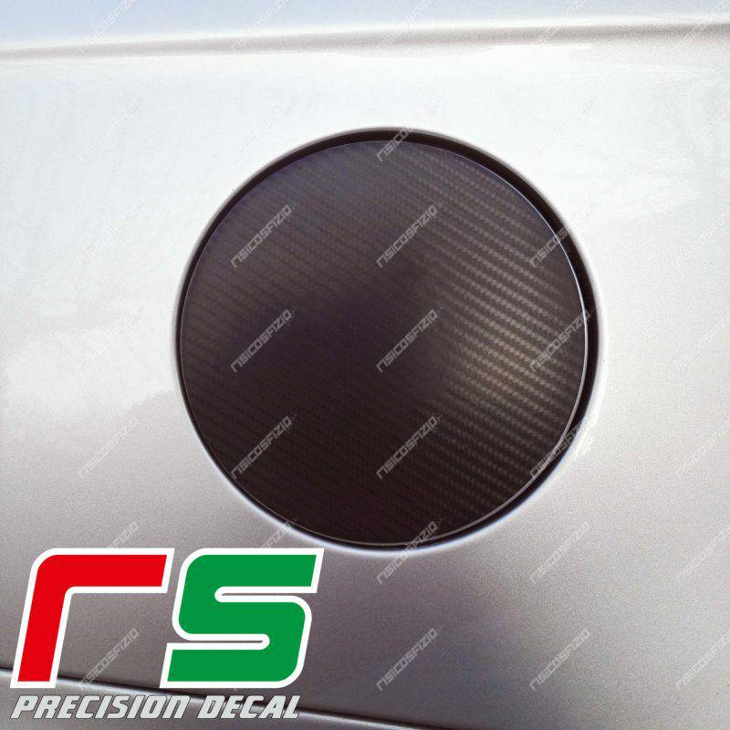 stickers Alfa Romeo 156 Decal carbon look tank cover logo
