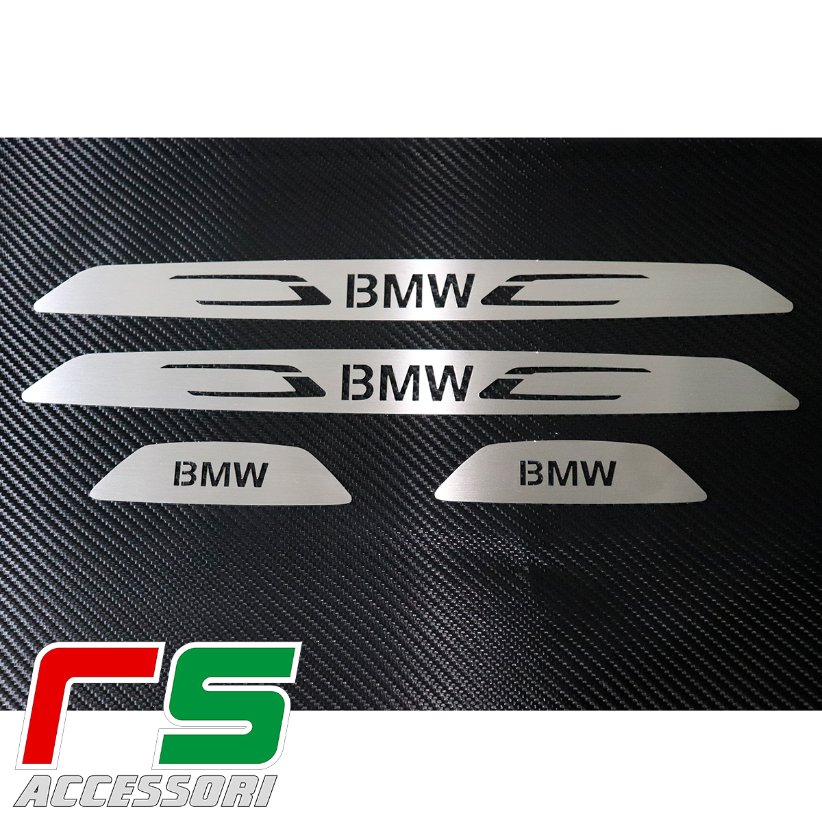 sill threshold bmw series 3 F30 F31 stainless steel