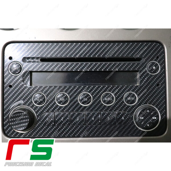 adesivi Alfa Romeo 159 carbon look Decal stereo CD radio