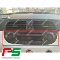 Fiat 500 Abarth Sticker Aufkleber Carbonoptik Stereo Radio