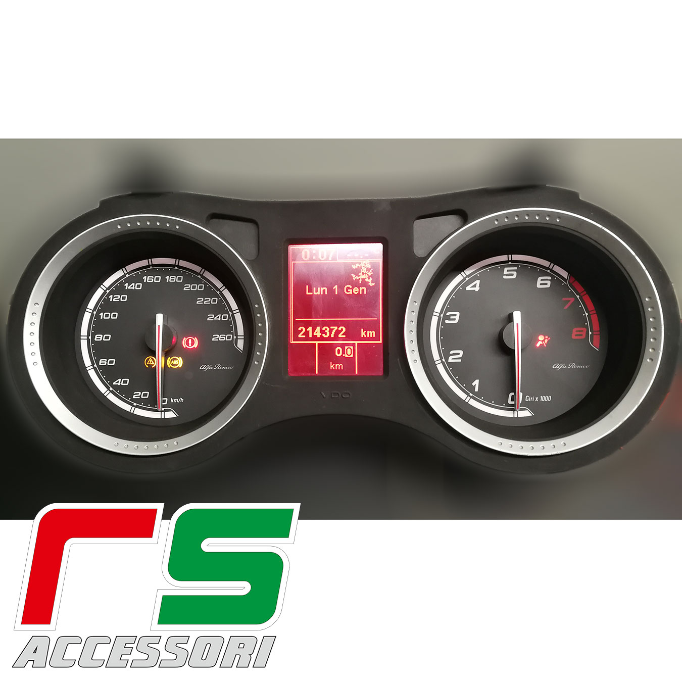 customized instrumentation Alfa Romeo 159 jts