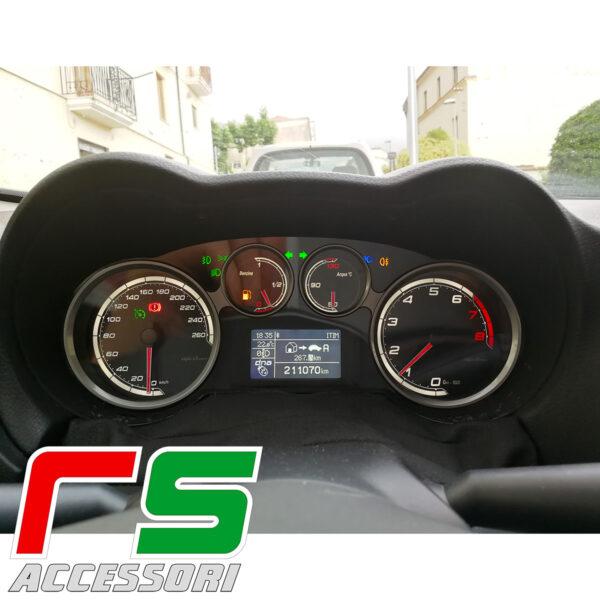 strumentazione fondini personalizzati Alfa Romeo Mito benzina