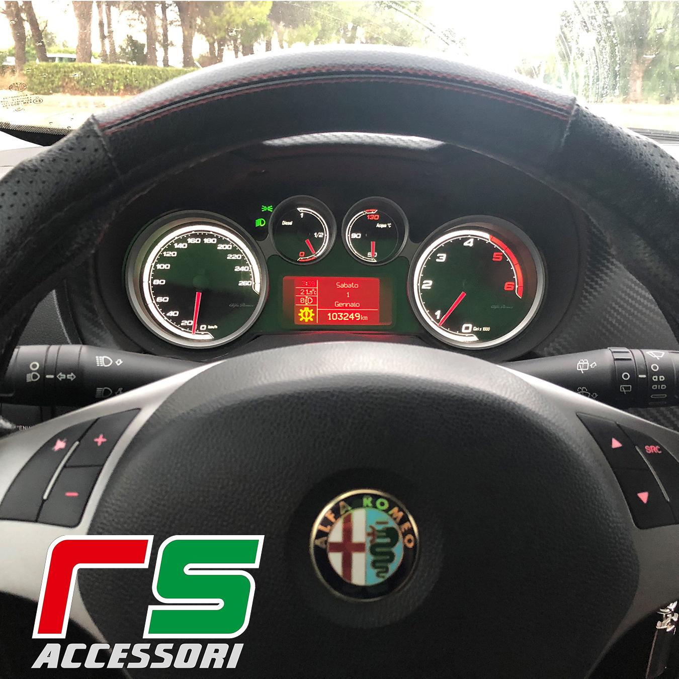 strumentazione fondini personalizzati Alfa Romeo Mito jtdm