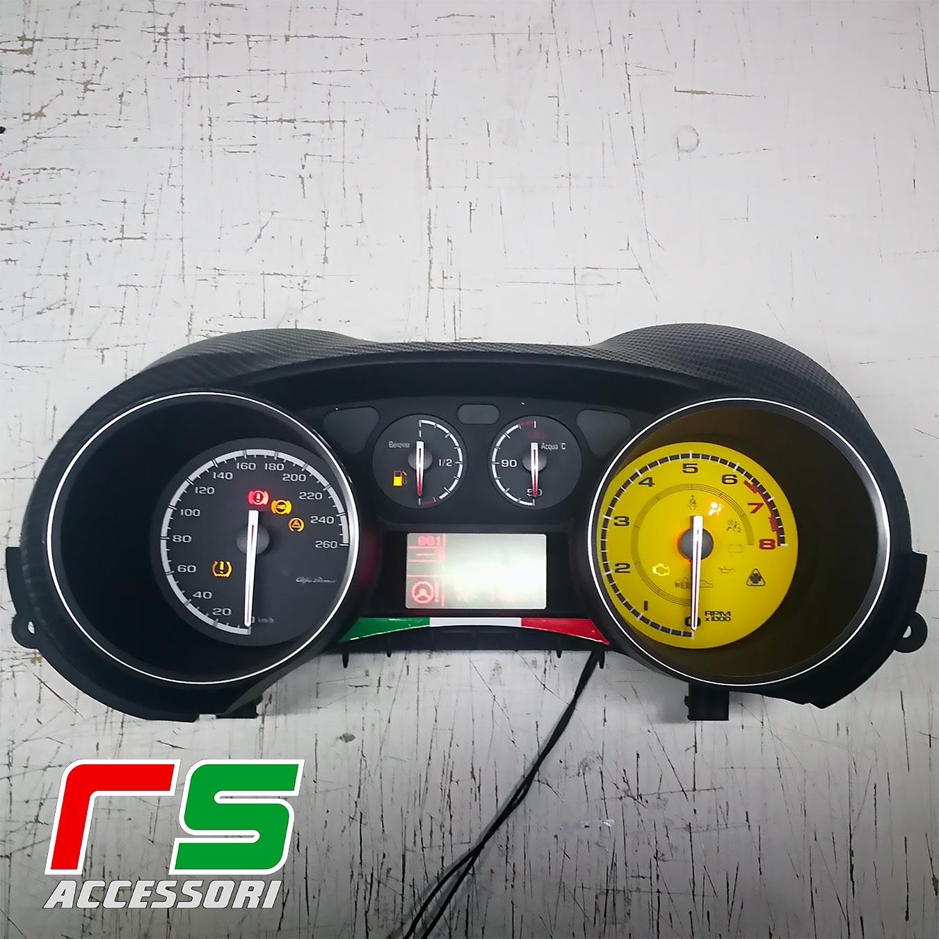 fondini strumentazione Alfa Romeo Mito Giulietta benzina scuderia Ferrari
