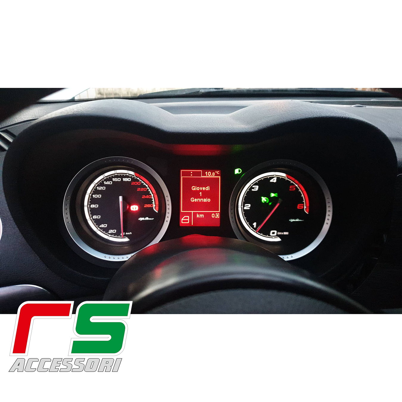 customized instrumentation evo Alfa Romeo 159 jtdm