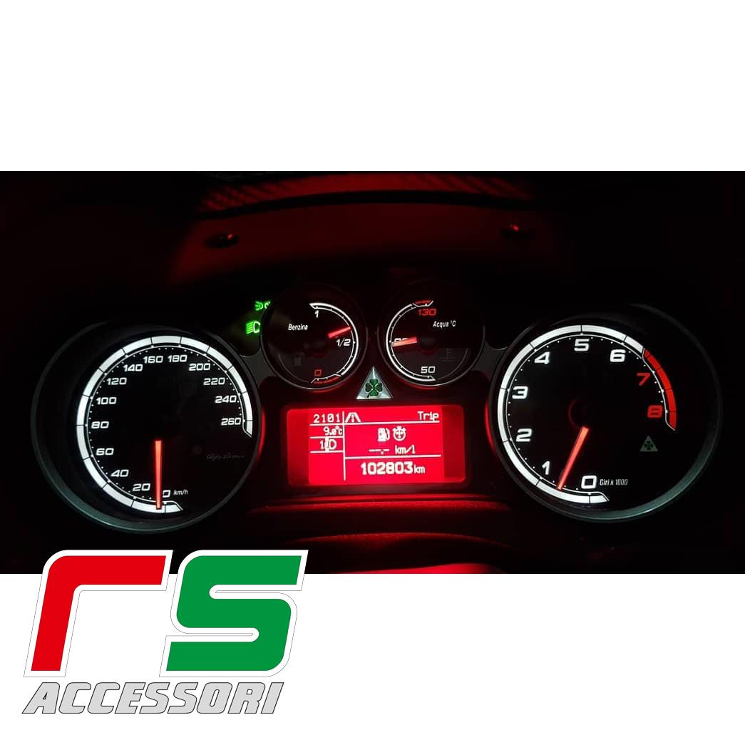 customized instrumentation Alfa Romeo mito quadrifoglio