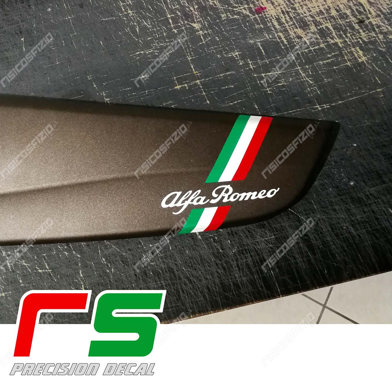 adhésifs Alfa Romeo Giulietta tableau de bord bande italien