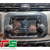 Adesivi Alfa Romeo Giulietta cornice Uconnect Decal carbonlook