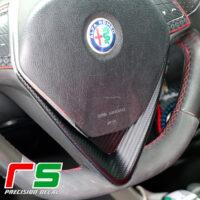 Alfa Romeo Mito Giulietta Decal V volante 2014 carbonlook